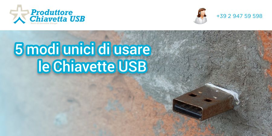 5 modi unici di usare le Chiavette USB