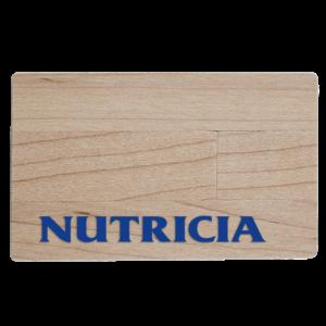 Carta di credito Legno - Chiavetta USB