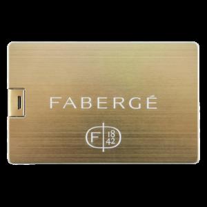 Carta di credito Oro - Chiavetta USB